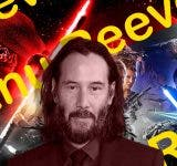Keanu Reeves and Star Wars