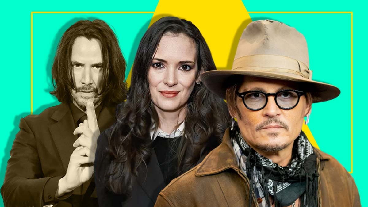 Keanu Reeves actually stole some best roles and Winona Ryder from Johnny Depp