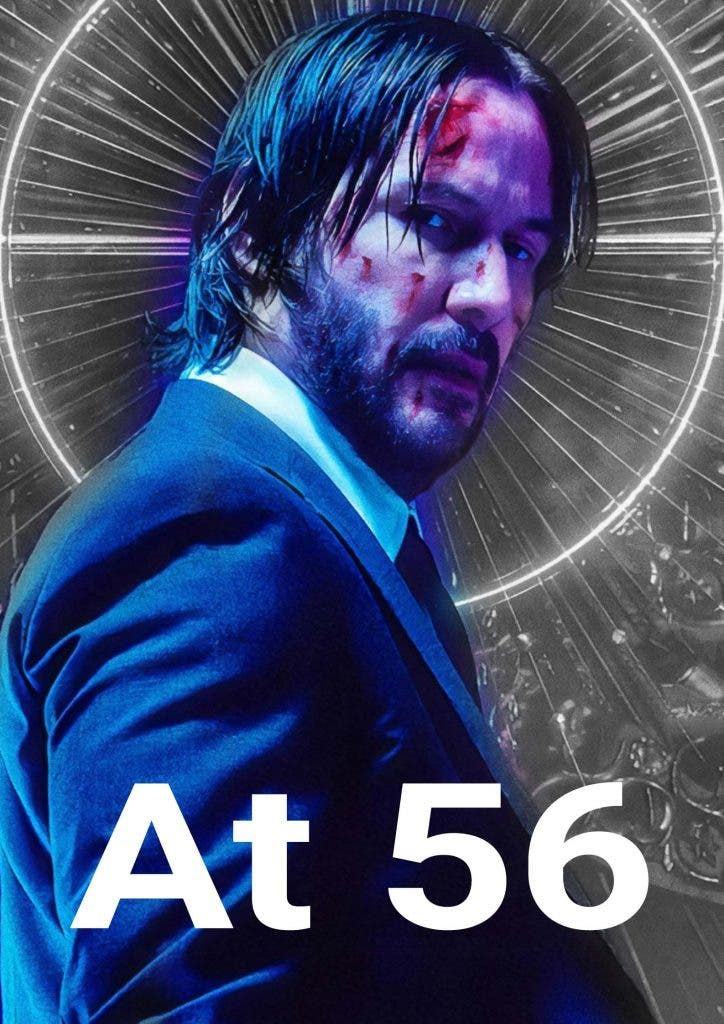 Keanu Reeves struggling to do action films