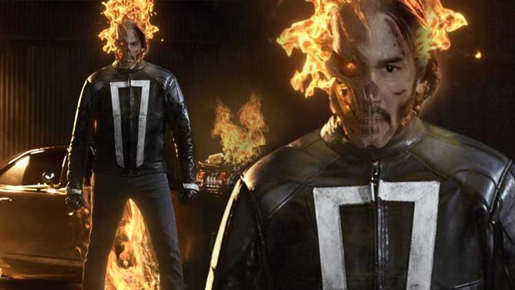 Keanu reeves Marvel Ghost Rider