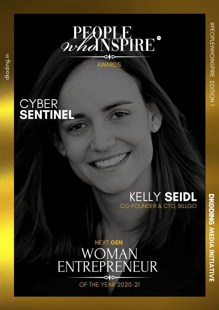 Kelly Seidl People Who Inspire PWI Woman Entrepreneur of the Year Award 2020-21