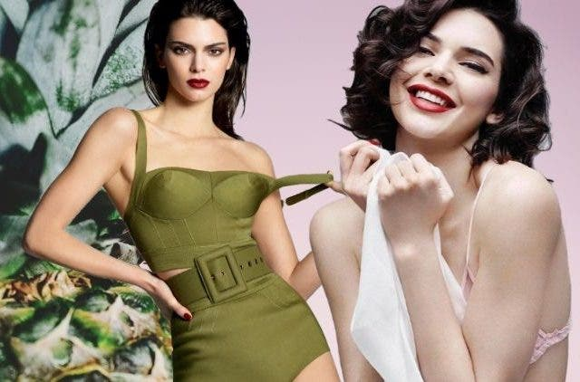 Kendall Jenner flaunts her curves
