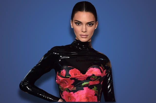 Kendall Jenner Latex Floral Emmys 2019 Trending Today DKODING
