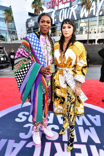 singers Kesha and Big Freedia