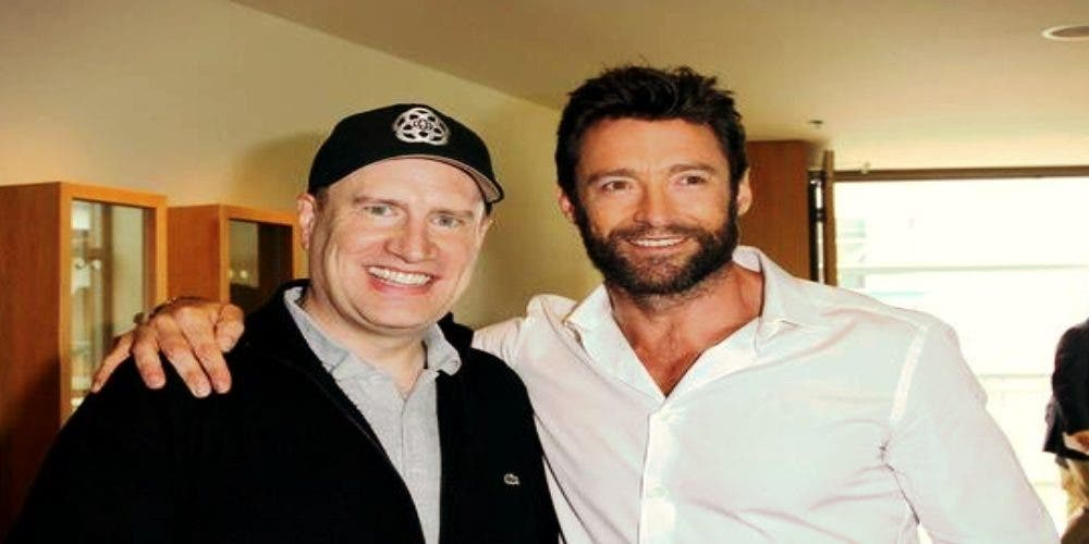 Kevin feige with Hugh Jackman DKODING