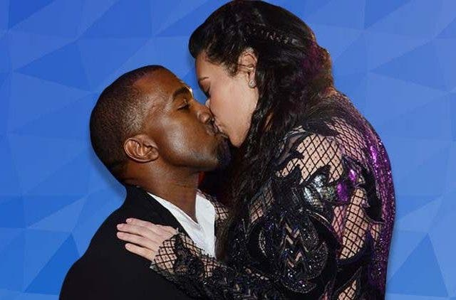 Kim and her husband passionately kiss in elevators