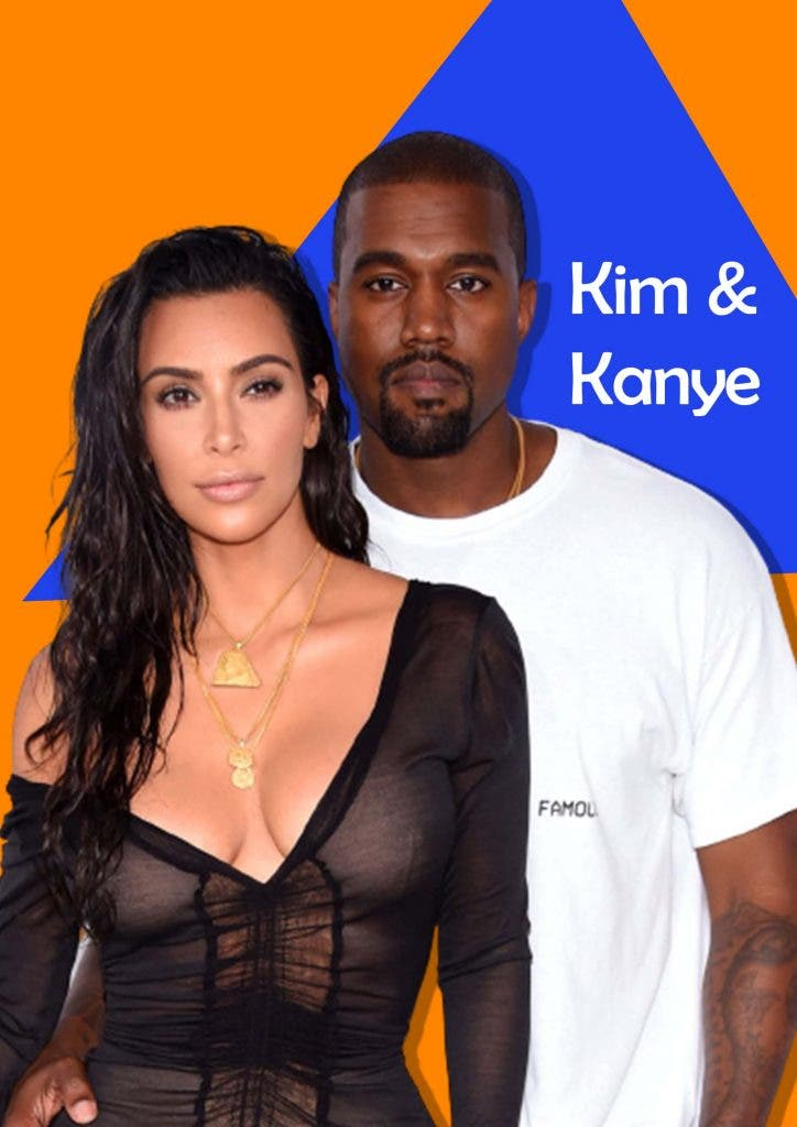 Kim and Kanye working for a charity after divorce