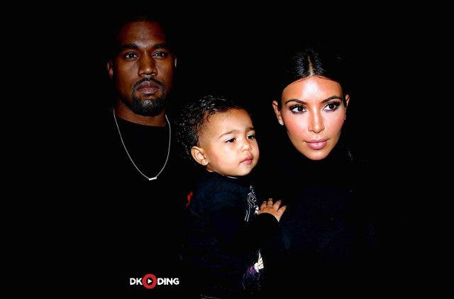 Kim-Kardashian-And-Kanye-West-With-Their-Child-Trending-Today-DKODING
