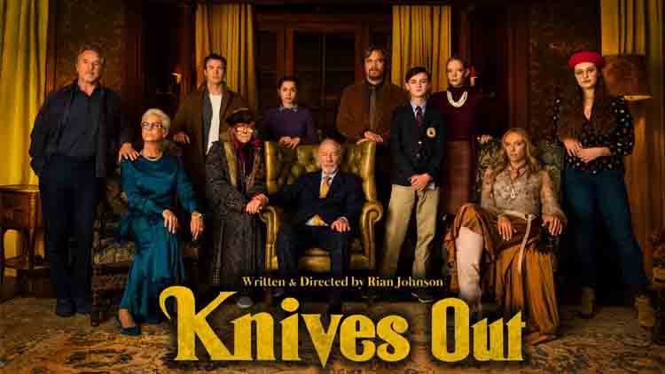 Trailer of 'Knives Out' features a lot of pretty faces who might be murderers!