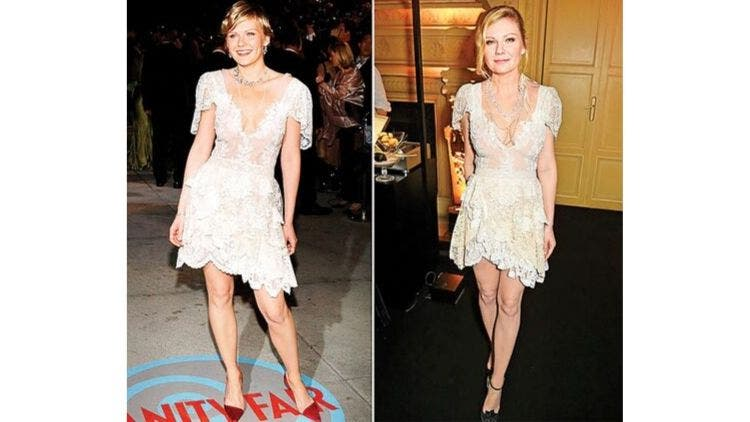 Kristen-Dunst-White-Lace-Dress-Fashion-And-Beauty-Lifestyle-DKODING