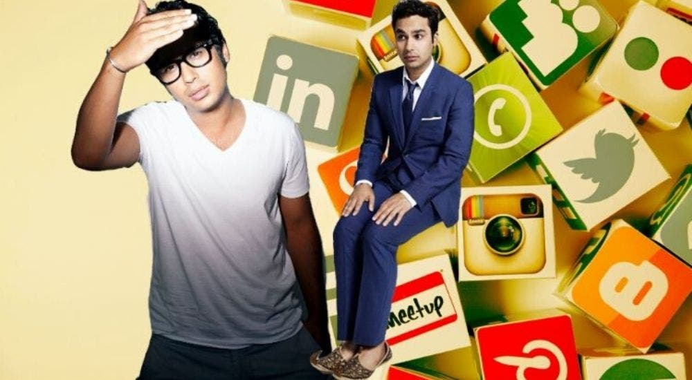 Kunal Nayyar takes a breather from social media