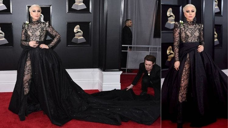 Lady-Gaga-Grammys-Outfit-Fashion-And-Beauty-Lifestyle-DKODING