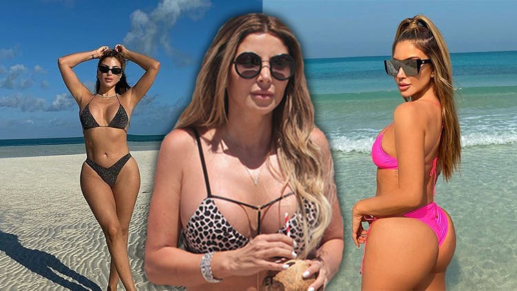 Larsa Pippen Misses The Beach From Her Balcony