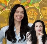 """Laura Prepon got into 'That 70's Show' by posing as a """"total tomboy"""""""