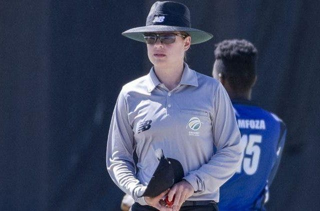 Lauren Agenbag Umpire Cricket Sports DKODING