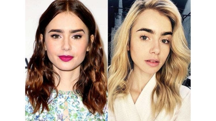 Lily-Collins-Brown-To-Blonde-Fashion-And-Beauty-Lifestyle-DKODING