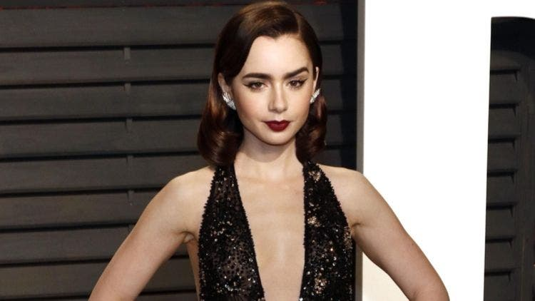 Lily-Collins-Low-Neck-Line-Health-And-Wellness-Lifestyle-DKODING