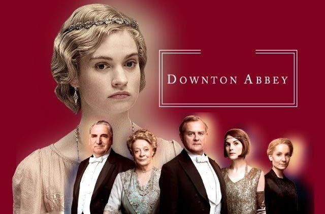 Downton Abbey movie Lily James