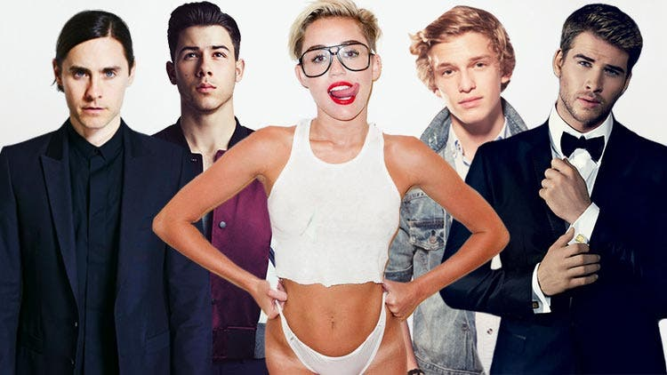 Here is Miley Cyrus' long list of boyfriends… (and girlfriends)
