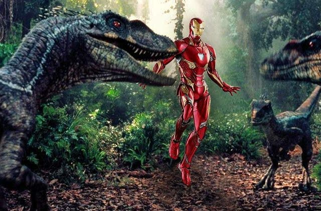 MCU Jurassic Park Dinosaurs Hollywood DKODING