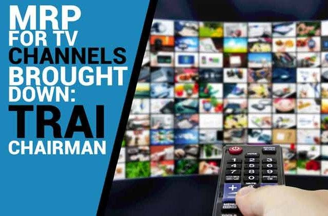 MRP-for-TV-channels-brought-down-TRAI-Chairman-Videos-DKODING
