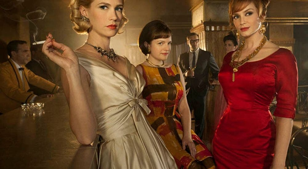 Mad Men created by Matthew Weiner and produced by Lionsgate Television