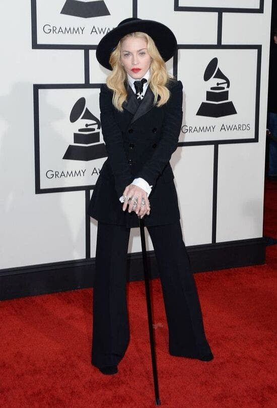 Madonna-At-The-Grammys-Fashion-And-Beauty-Lifestyle-DKODING