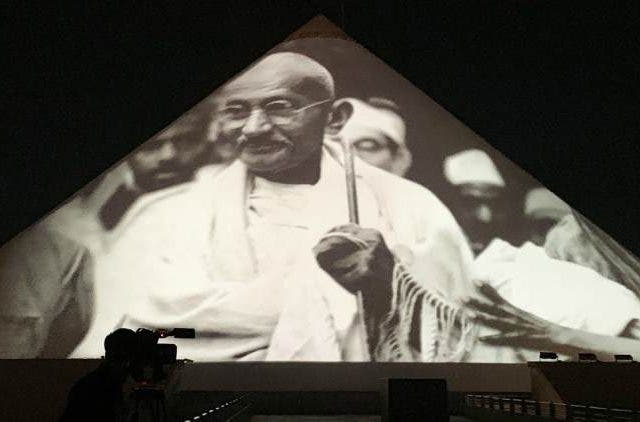 Mahatma-Gandhi-Dandi-Kutir-3D-Projection-Tech-Startups-Business-DKODING
