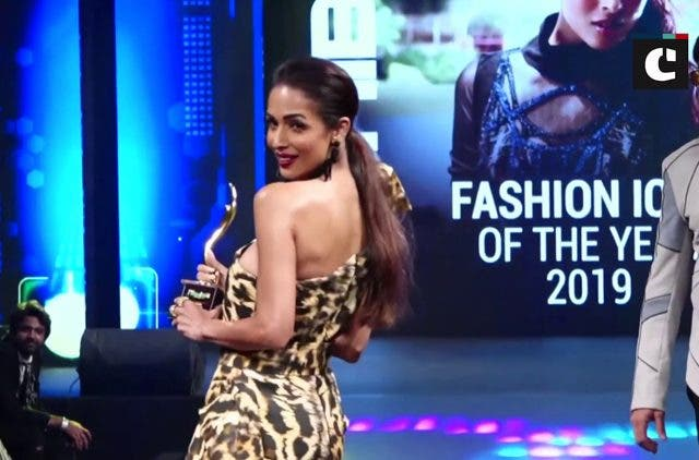 Malaika Arora receives Fashion Icon of the Year 2019 award