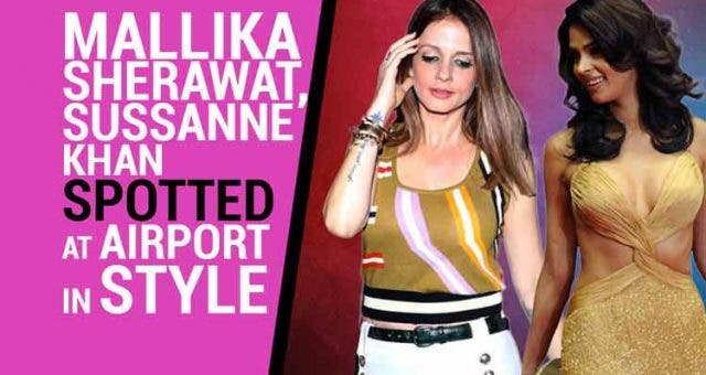 Mallika-Sherawat-Sussanne-Khan-spotted-at-airport-in-style-Videos-DKODING
