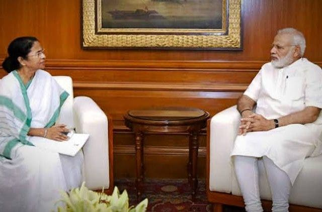 Mamata-Banerjee-Meet-PM-Modi -India-Politics-DKODING