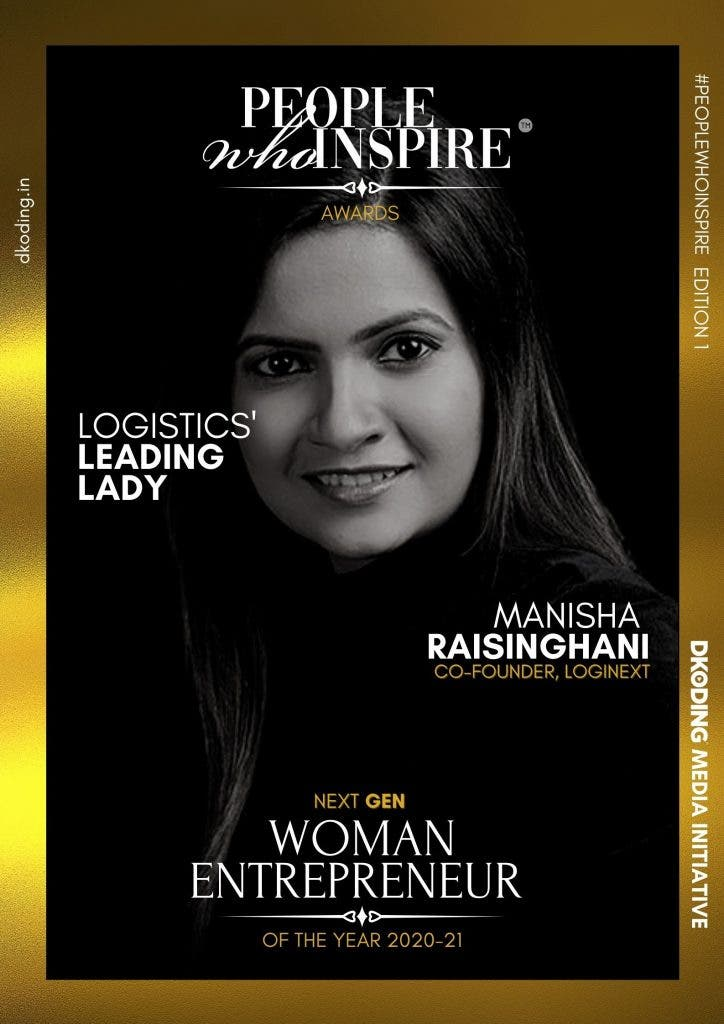 Manisha Raisinghani People Who Inspire PWI Woman Entrepreneur of the Year Award 2020-21