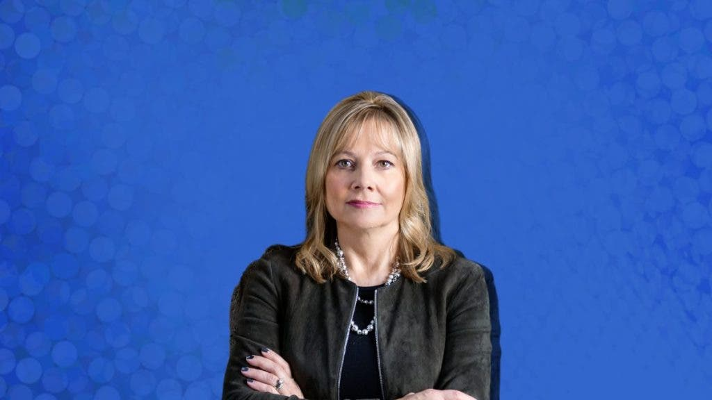Marry Barra, CEO, General Motors - World's Most Powerful White-Collared Women in 2020