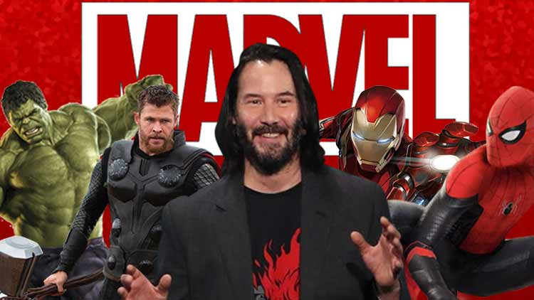 Keanu Reeves To Be A Part Of Marvel?