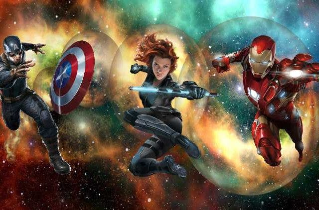 Marvel Multiverse Captain America Black Widow Iron Man are back