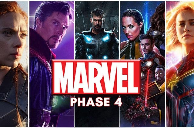 Marvel Phase 4 New Schedule Announcement