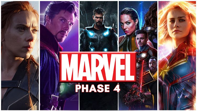 Marvel Phase 4 New Schedule: Captain Marvel 2 Is Coming Sooner Than Expected