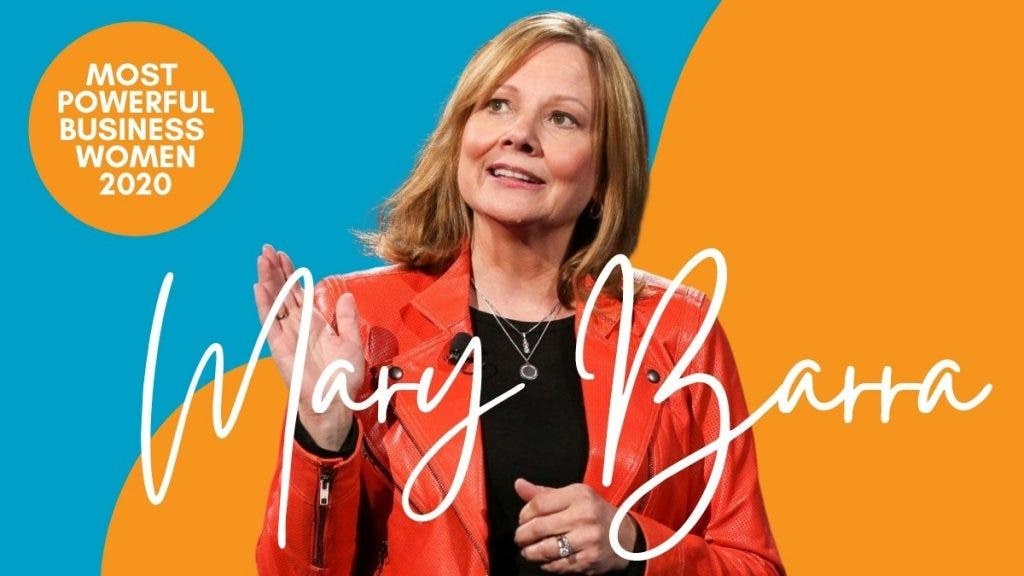 Mary Barra Most Powerful business Women 2020