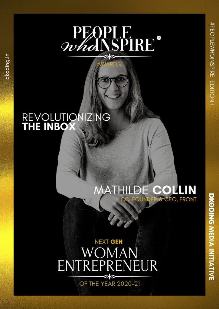 Mathilde Collin People Who Inspire PWI Woman Entrepreneur of the Year Award 2020-21