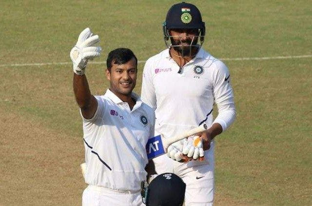Mayank Agarwal Test Cricket Sports DKODING