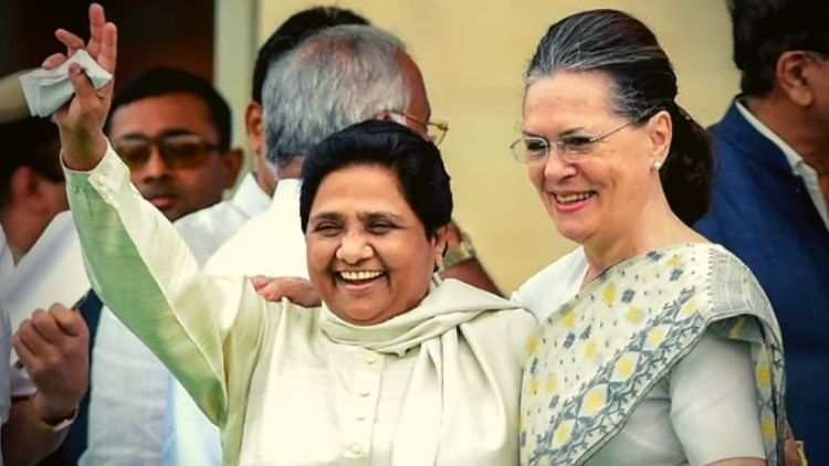 Mayawati-Likely-To-Meet-Sonia-Gandhi-Ahead-Of-LS-Poll-Result-India-Politics-DKODING