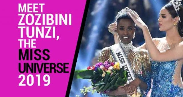Meet-Zozibini-Tunzi-the-Miss-Universe-2019-Videos-DKODING