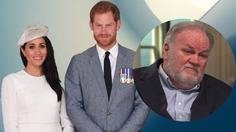 Meghan Markle And Prince Harry Tried To Protect Her Father Thomas Markle