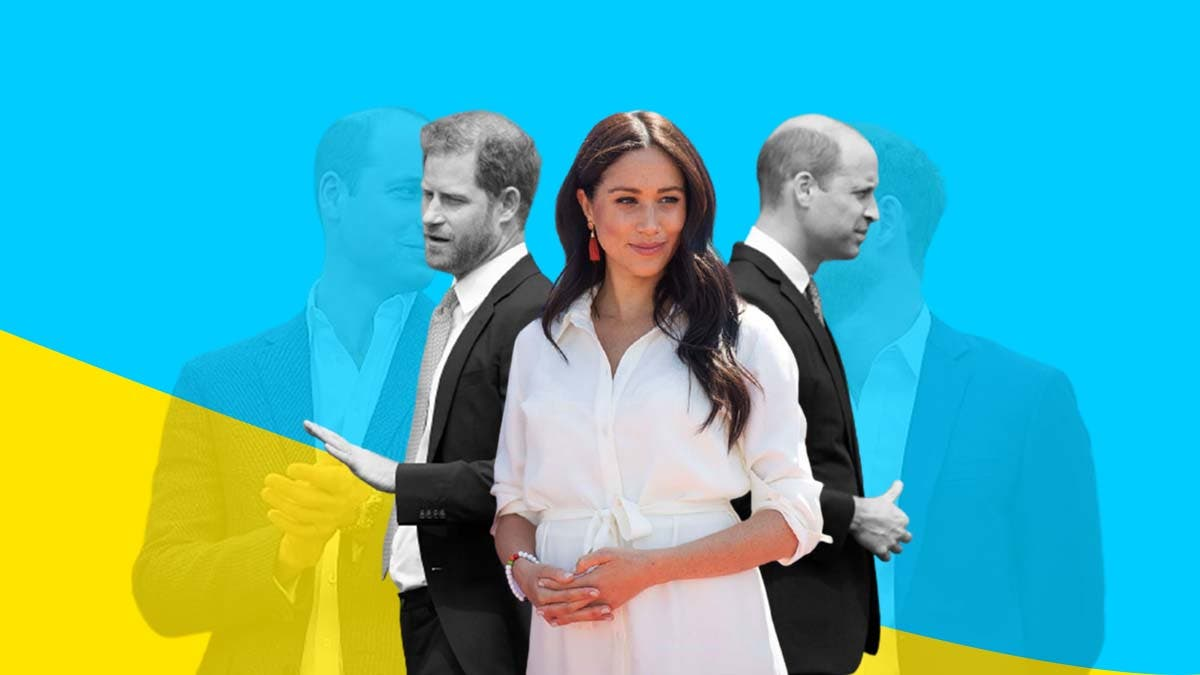 Meghan Markle was eyeing Prince William before marrying Prince Harry