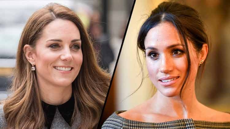 Meghan Markle And Kate Middleton Tabloids
