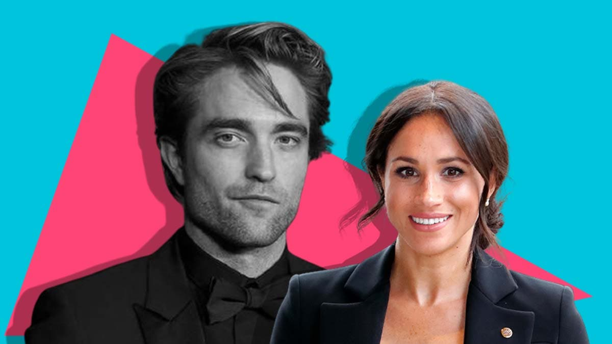 How did Robert Pattinson become a role model for Meghan Markle?