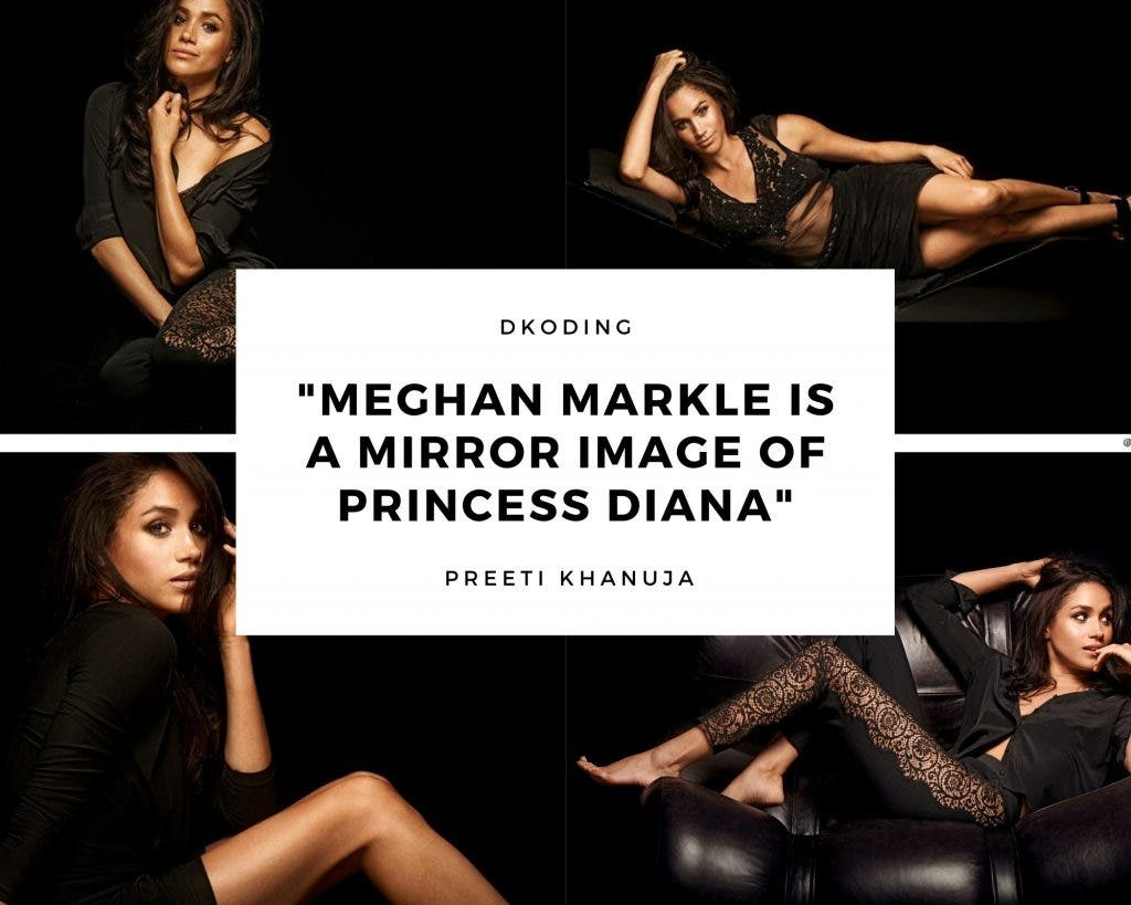 Meghan Markle Is A Mirror Image Of Princess Diana