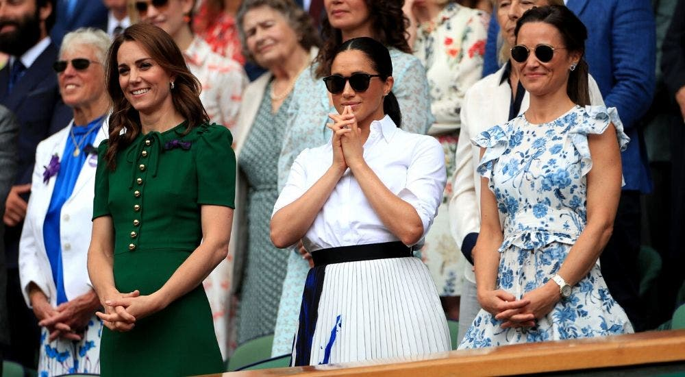 Meghan Markle supported Serena Williams in her match
