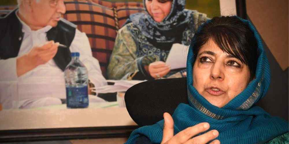 Mehbooba-Mufti-PDP-India-Politics-DKODING