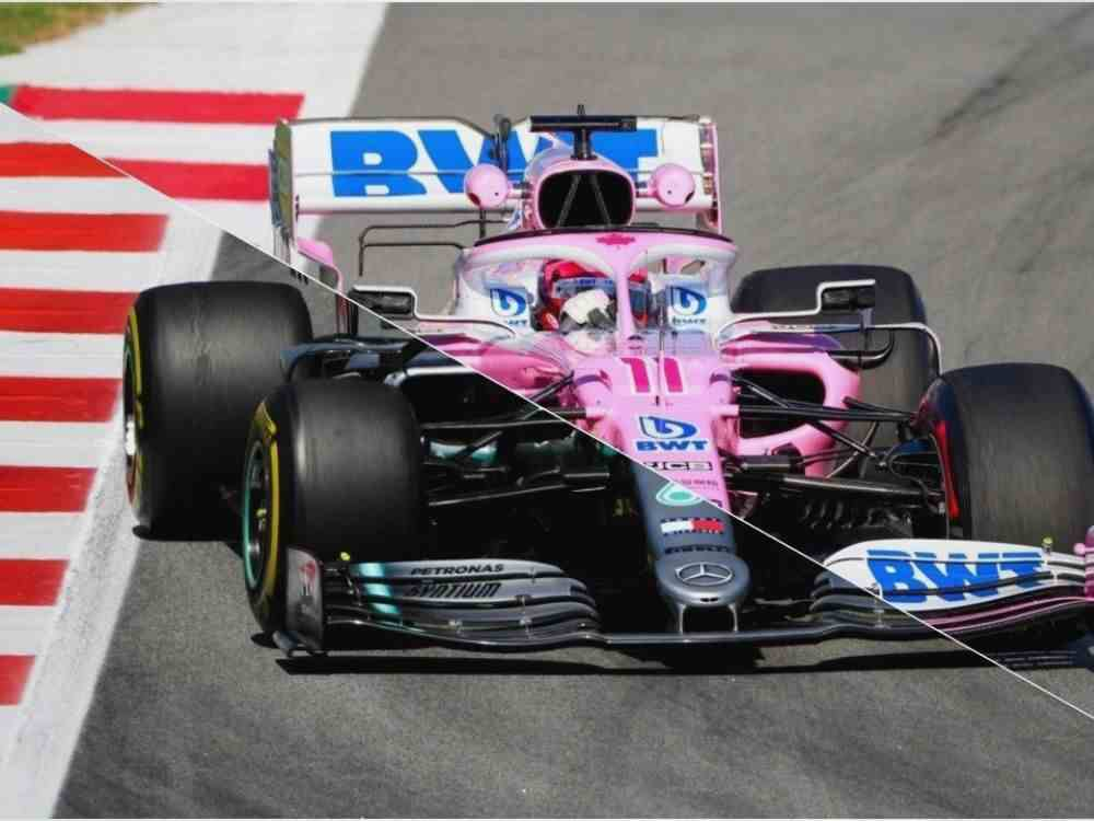 Racing Point RP20 vs Mercedes W10 DKODING